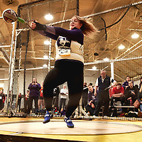 Hannah Diebold, Western, 2019 U SPORTS Track and Field Championships on Thu Mar 07 at James Daly Fieldhouse. Credit: Arthur Ward/Arthur Images