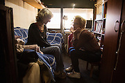 Belhospice nurse Ivana Lapadatović, 36, visits Snezana Erić, 55, at her apartment in the Zarkovo neighborhood of Belgrade, Serbia. Erić is battling lung and uterine cancer and has been a Belhospice patient for 8 months.