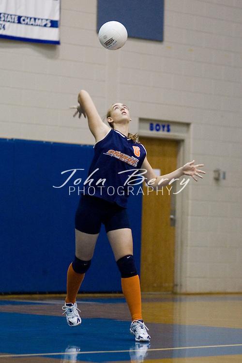 Mountaineer Classic Volleyball Tournament..Orange (0) vs Rappahannock (2)