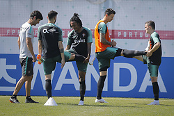 June 22, 2018 - Na - Kratovo, 06/22/2018 - The national soccer team trained this morning at the Saturn center in Russia, where they will play the final round of the football world cup. José Fonte, Gelson, José Fonte and Rui Mário. (Credit Image: © Atlantico Press via ZUMA Wire)