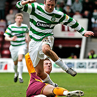 SPL.Motherwell V Celtic.Ross McCormack and Aiden McGeady.