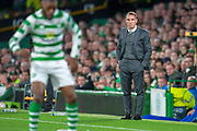 Brendan Rogers, manager of Celtic FC during the UEFA Europa League group stage match between Celtic FC and Rosenborg BK at Celtic Park, Glasgow, Scotland on 20 September 2018.