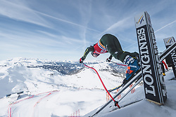 09.01.2020, Keelberloch Rennstrecke, Altenmark, AUT, FIS Weltcup Ski Alpin, Abfahrt, Damen, 1. Training, im Bild Jacqueline Wiles (USA) // Jacqueline Wiles of the USA in action during her 1st training run for the women's Downhill of FIS ski alpine world cup at the Keelberloch Rennstrecke in Altenmark, Austria on 2020/01/09. EXPA Pictures © 2020, PhotoCredit: EXPA/ Johann Groder
