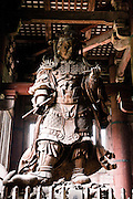 Todaiji Temple, the world's largest wooden structure.