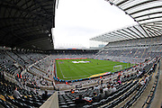 A general view of the stadium before the EFL Sky Bet Championship match between Newcastle United and Brighton and Hove Albion at St. James's Park, Newcastle, England on 27 August 2016.