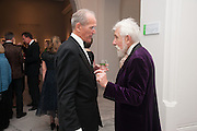 SANDY NAIRNE; SIR ROY STRONG; , Mark Weiss dinner, Nationaal Portrait Gallery. London. 15 October 2012.