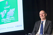 Conférence de Roland Lescure Invité par RPSF, Relations Publiques Sans Frontières, sur la France, Le Québec, Le Canada, à quelques jours du Sommet du G7 à Charlevoix.  à  Centre Mont-Royal / Montreal / Canada / 2012-07-03, Photo © Marc Gibert / adecom.ca