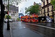 Tourist bus, The Rocks, Sydney, Australia