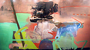 Chris Wallace, Ero Guro Nansensu, Meow, 2012, oil on canvas