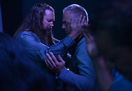 Pastor Billy Price prays with Scott Krik, a recovering heroin addict, at his church, City on a Hill, in Cincinnati, Ohio, where heroin addiction and overdose deaths are rampant. Price devoted his ministry to helping heroin addicts after seeing a local sheriff on the news pleading for help after a spate of overdose deaths.