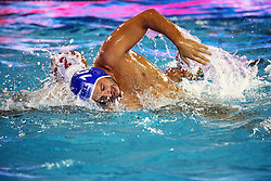 July 24, 2018 - Barcelona, Spain - Christodoulos Kolomvos (Greece) during the match between Spain and Greece, corresponding to the women group stage of the European Water Polo Championship, on 19th July, 2018, in Barcelona, Spain. (Credit Image: © Joan Valls/NurPhoto via ZUMA Press)