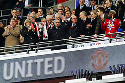 Manchester United manager Jose Mourinho lifts the EFL Trophy - Mandatory by-line: Matt McNulty/JMP - 26/02/2017 - FOOTBALL - Wembley Stadium - London, England - Manchester United v Southampton - EFL Cup Final