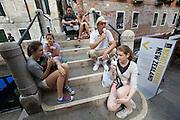 "54th Biennale of Venice..ILLUMInazioni - ILLUMInations.New Zealand exhibition at Palazzo Loredan dell' Ambasciatore..Michael Parekowhai, ""On First Looking into Chapman's Homer"", 2011.."