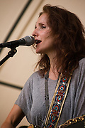 Patty Griffin on stage at 2010 The Appel Farm Arts & Music Festival in Elmer, NJ.