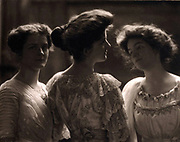 Elias Goldensky (1867-1943) American portrait photographer.  Portrait of three women , c. 1915