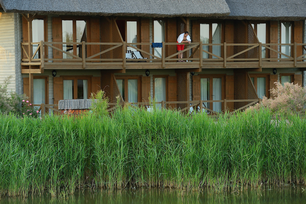 Green Village hotel/lodge, Sfinthu Gheorghe, Danube delta rewilding area, Romania