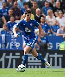 Harry Maguire of Leicester City in action - Mandatory by-line: Jack Phillips/JMP - 18/08/2018 - FOOTBALL - King Power Stadium - Leicester, England - Leicester City v Wolverhampton Wanderers - English Premier League