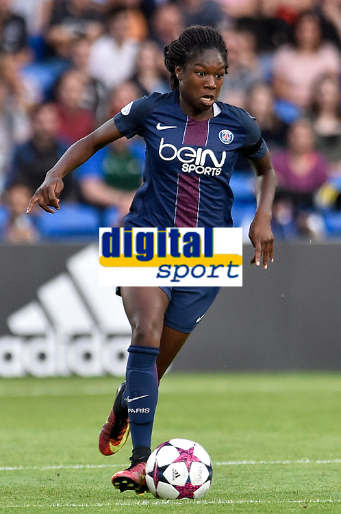 Aminata Diallo of  Paris Saint-Germain during the UEFA Women's Champions League Final between Lyon Women and Paris Saint Germain Women at the Cardiff City Stadium, Cardiff, Wales on 1 June 2017. Photo by Giuseppe Maffia.<br /> <br /> <br /> Giuseppe Maffia/UK Sports Pics Ltd/Alterphotos