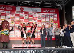 07.07.2019, Wels, AUT, Ö-Tour, Österreich Radrundfahrt, 1. Etappe, von Grieskirchen nach Freistadt (138,8 km), im Bild Emils Liepins (LAT, Wallonie-Bruxelles), im roten Trikot des Gesamtführenden // Emils Liepins of Latvia (Wallonie-Bruxelles) oveall leader in the leaders jersey during 1st stage from Grieskirchen to Freistadt (138,8 km) of the 2019 Tour of Austria. Wels, Austria on 2019/07/07. EXPA Pictures © 2019, PhotoCredit: EXPA/ Reinhard Eisenbauer