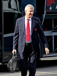 Arsenal manager Arsene Wenger arrives at Turf Moor in good spirits - Mandatory by-line: Matt McNulty/JMP - 02/10/2016 - FOOTBALL - Turf Moor - Burnley, England - Burnley v Arsenal - Premier League