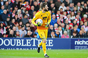 Lincoln City goalkeeper Josh Vickers (1) during the EFL Sky Bet League 1 match between Lincoln City and Sunderland at Sincil Bank, Lincoln, United Kingdom on 5 October 2019.