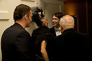 DAVID LACHAPELLE; DAPHNE GUINNESS; LORD CHOLMONDELEY; JOHN RICHA, Nicky Haslam party for Janet de Botton and to celebrate 25 years of his Design Company.  Parkstead House. Roehampton. London. 16 October 2008.  *** Local Caption *** -DO NOT ARCHIVE-© Copyright Photograph by Dafydd Jones. 248 Clapham Rd. London SW9 0PZ. Tel 0207 820 0771. www.dafjones.com.