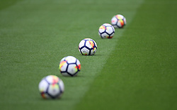 General view of warm up balls - Mandatory by-line: Jack Phillips/JMP - 22/04/2018 - FOOTBALL - Bet365 Stadium - Stoke-on-Trent, England - Stoke City v Burnley - English Premier League