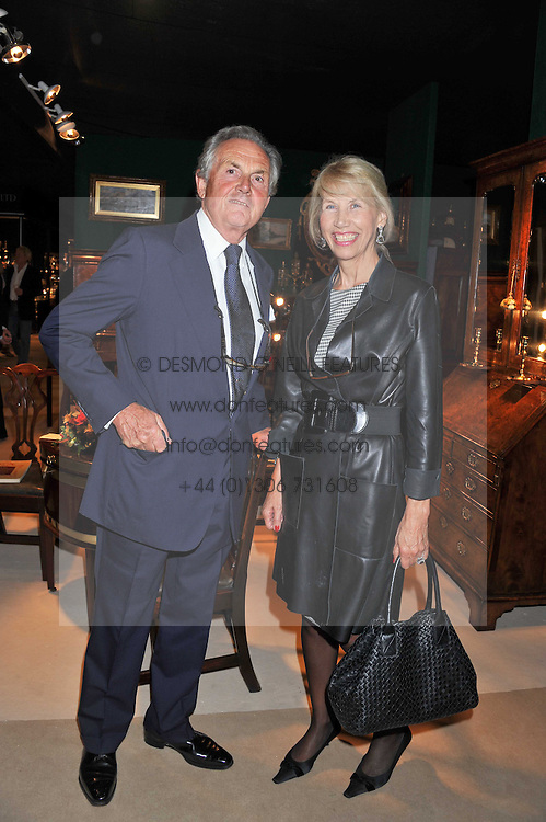 LORD & LADY HINDLIP at a preview evening of the annual London LAPADA (The Association of Art & Antiques Dealers) antiques Fair held in Berkeley Square, London on 20th September 2011.