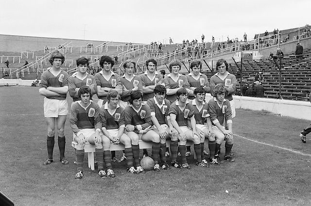08.08.1971 Football All Ireland Junior Semi Final Mayo Vs Tyrone.Mayo Team