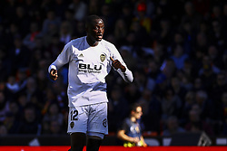 December 23, 2018 - Valencia, Spain - Mouctar Diakhaby of Valencia CF  during  spanish La Liga match between Valencia CF vs SD Hueca at Mestalla Stadium on December 23, 2018. (Photo by Jose Miguel Fernandez/NurPhoto) (Credit Image: © Jose Miguel Fernandez/NurPhoto via ZUMA Press)