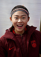 International Women's Friendly Matchs 2019 / <br /> Womens's Algarve Cup Tournament 2019 - <br /> China v Norway 1-3 ( Municipal Stadium - Albufeira,Portugal ) - <br /> LIU HUITING of China