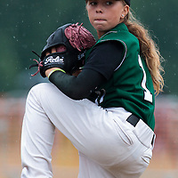 03 July 2010: Melissa Mayeux, Cougars Montigny little league, championnat Minimes, Ronchin, France.