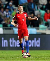John Stones of England runs with the ball - Mandatory by-line: Robbie Stephenson/JMP - 11/10/2016 - FOOTBALL - RSC Stozice - Ljubljana, England - Slovenia v England - World Cup European Qualifier