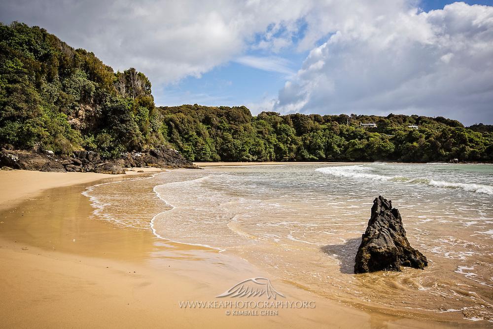Bathing Beach, Stewart Island, New Zealand