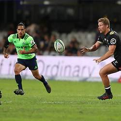 DURBAN, SOUTH AFRICA - MAY 05: Robert du Preez of the Cell C Sharks during the Super Rugby match between Cell C Sharks and Highlanders at Jonsson Kings Park Stadium on May 05, 2018 in Durban, South Africa. (Photo by Steve Haag/Gallo Images)