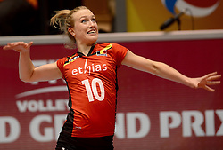 10-08-2014 NED: FIVB Grand Prix Belgie - Puerto Rico, Doetinchem<br /> Lise Van Hecke