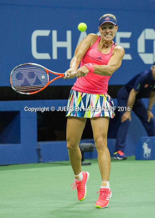 ANGELIQUE KERBER (GER)<br /> <br /> Tennis - US Open 2016 - Grand Slam ITF / ATP / WTA -  USTA Billie Jean King National Tennis Center - New York - New York - USA  - 8 September 2016.