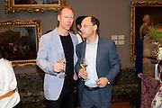 Jeff McMillan: DARIEN LEADER, Tate Britain Summer party. Tate. Millbank. 27 June 2011. <br /> <br />  , -DO NOT ARCHIVE-© Copyright Photograph by Dafydd Jones. 248 Clapham Rd. London SW9 0PZ. Tel 0207 820 0771. www.dafjones.com.