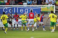 Dagenham - Thursday July 22nd 2010:   Action from the Pre Season Friendly match at the London Borough Of Barking & Dagenham Stadium, Dagenham. (Pic by Paul Chesterton/Focus Images)
