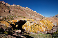MONUMENTO NATURAL PUENTE DEL INCA, PROVINCIA DE MENDOZA, ARGENTINA