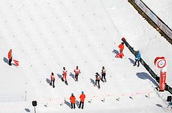 17.03.2017, Ramsau am Dachstein, AUT, Special Olympics 2017, Wintergames, Schneeschuhlauf, Divisioning 100 m, im Bild das Startgelände // start area during the Snowshoeing Divisioning 100 m at the Special Olympics World Winter Games Austria 2017 in Ramsau am Dachstein, Austria on 2017/03/17. EXPA Pictures © 2017, PhotoCredit: EXPA / Martin Huber