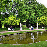 Palastgarten in Trier, Germany<br />