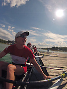 Munich, GERMANY,    General Views, GV's,  of the Boathouse and  Boating Area, CAN W8+, Darcy MARQUARDT. Boating for their morning training outing. 2012 World Cup III on the Munich Olympic Rowing Course,  Thursday  14/06/2012  [Mandatory Credit Peter Spurrier/ Intersport Images]..
