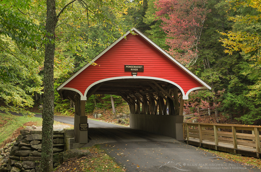 Flume Bridge, Franconia Notch New Hampshire