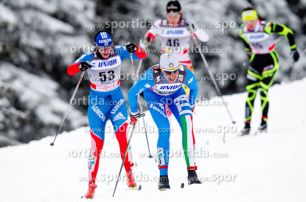 CAVALLAR Veronica (ITA) during Ladies 10km Classic Mass Start Competition at FIS Cross Country World Cup Rogla 2011, on December 17, 2011 at Rogla, Slovenia. (Photo By Vid Ponikvar / Sportida.com)