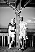 Jamie and Linda Engagement | Atlantic Beach Photographers