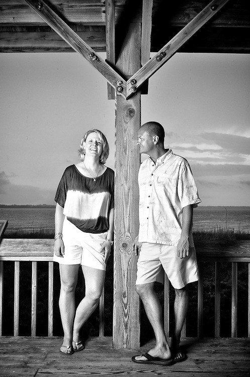 Jamie and Linda Engagement | Atlantic Beach Photographers