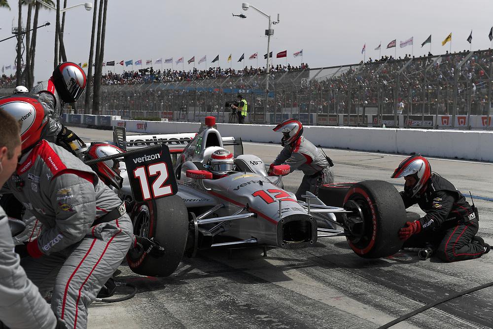 Will Power, Toyota Grand Prix of Long Beach, Streets of Long Beach, April 9, 2017, Long Beach, CA USA