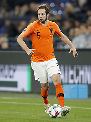 Daley Blind of Holland during the UEFA Nations League A group 1 qualifying match between Germany and The Netherlands at the Veltins Arena on November 19, 2018 in Gelsenkirchen, Germany