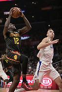 Clippers v Hawks 8 Jan 2018